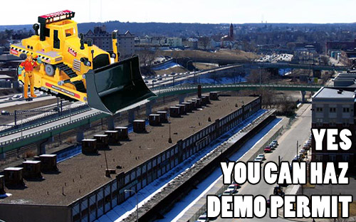 Yes, You Can Haz Demo Permit