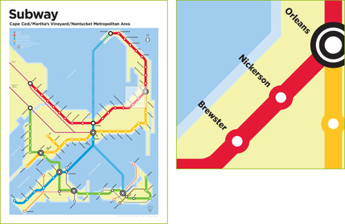 Providence Subway Map.Improbable Subway Maps Greater City Providence