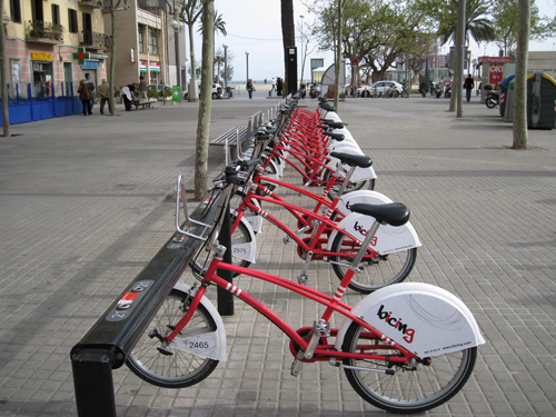 bike share in Barcelona