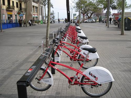 bike share in Barcelona