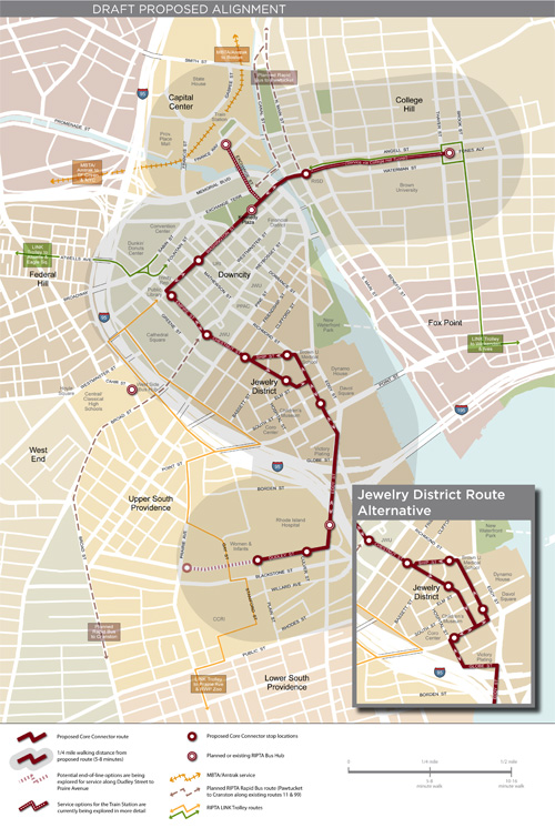 Proposed Route For The Core Connector Identified Greater City