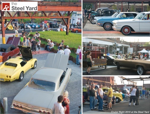 Cruise Night at the Steel Yard