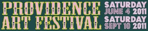 Providence Art Festival Logo