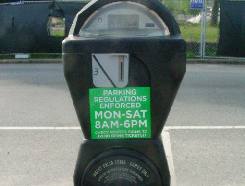 New parking regulations on meter in Providence.