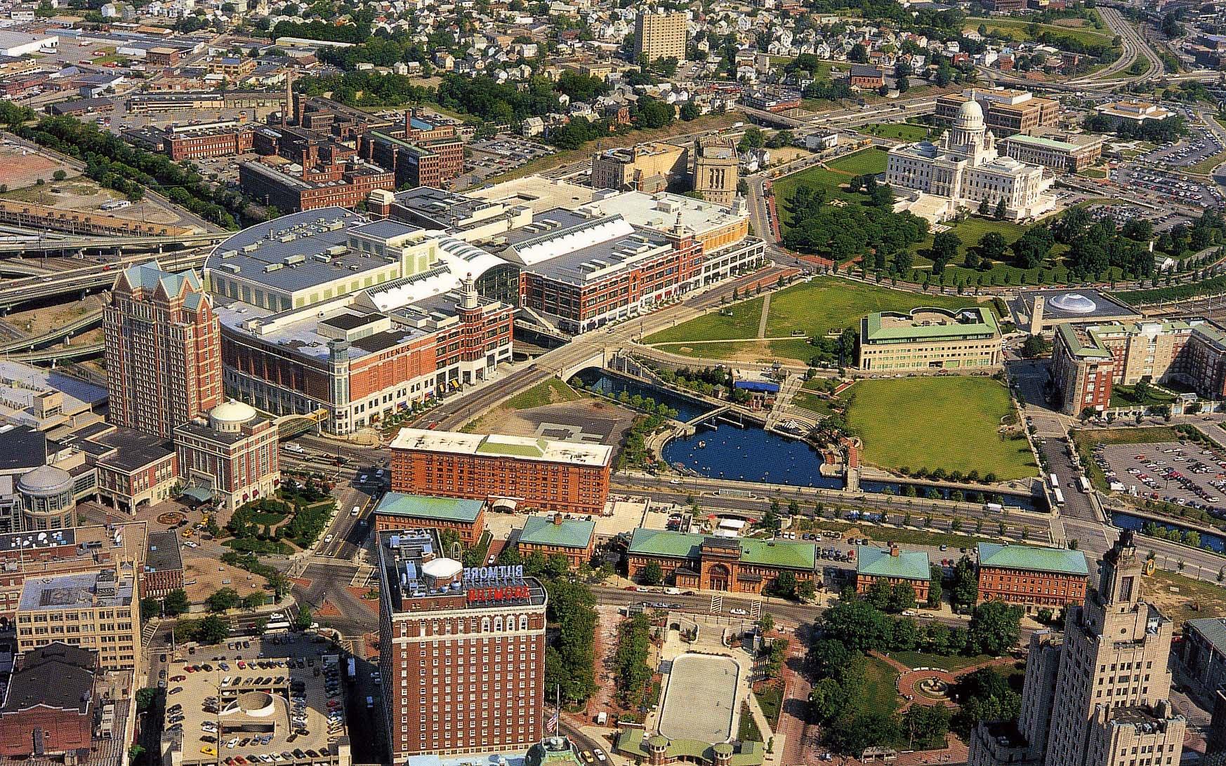 Capital Center Providence aerial