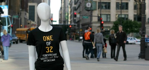 Chicago Pedestrian Safety Campaign