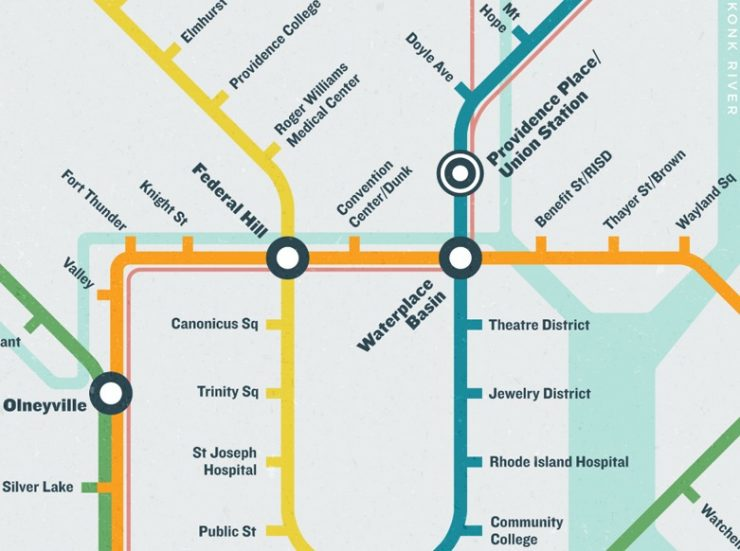 Improbable Providence Subway Map
