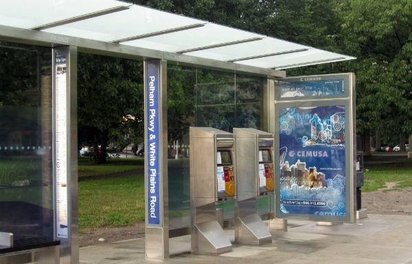 New York Select Bus Shelter