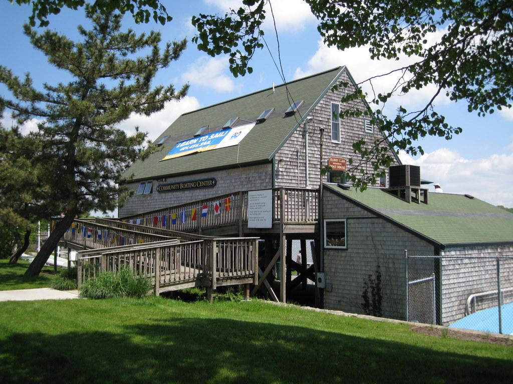 Community Boating Boathouse