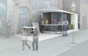 Sidewalk cafe proposed on Boston's Newbury Street