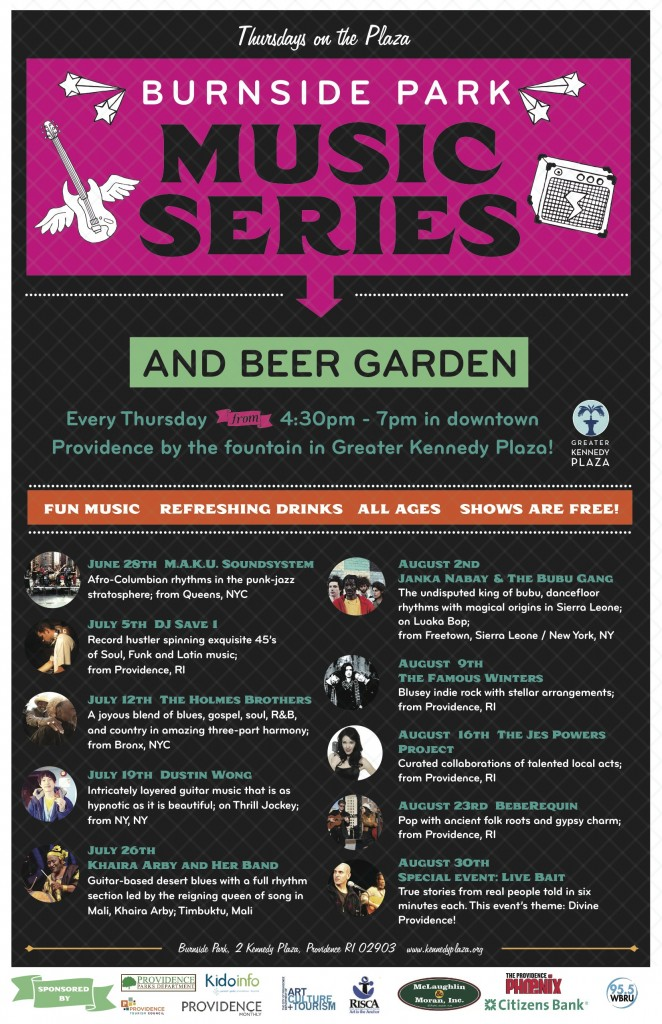 Burnside Park Music Series and Beer Garden
