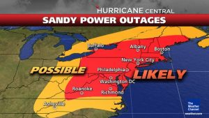 weather channel power outages