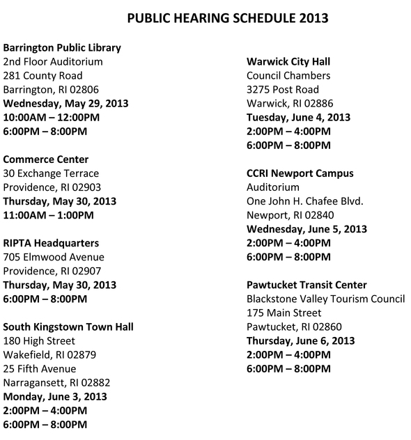 ripta-public-hearings