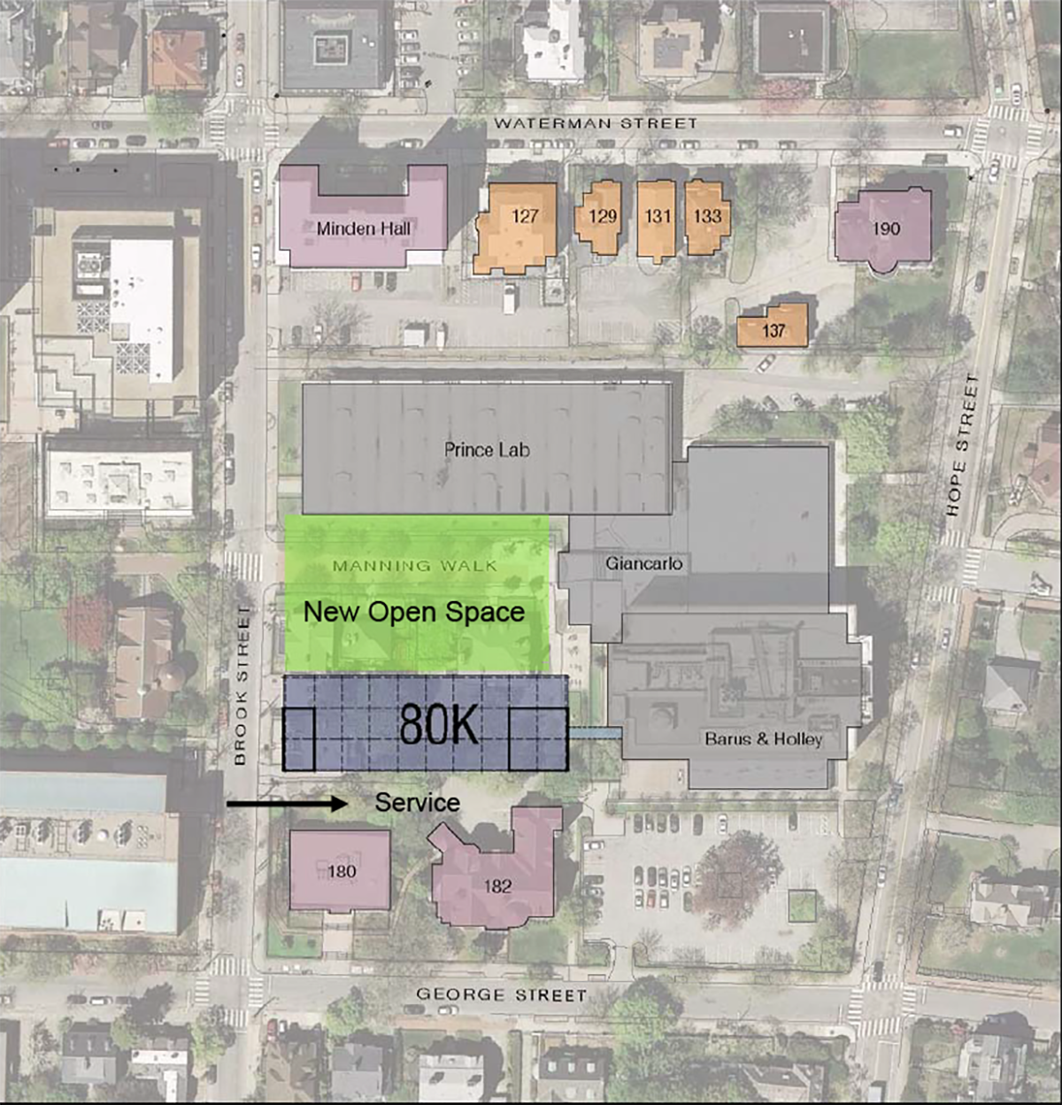 Brown daily herald engineering building plan calls for for Floor plans brown university