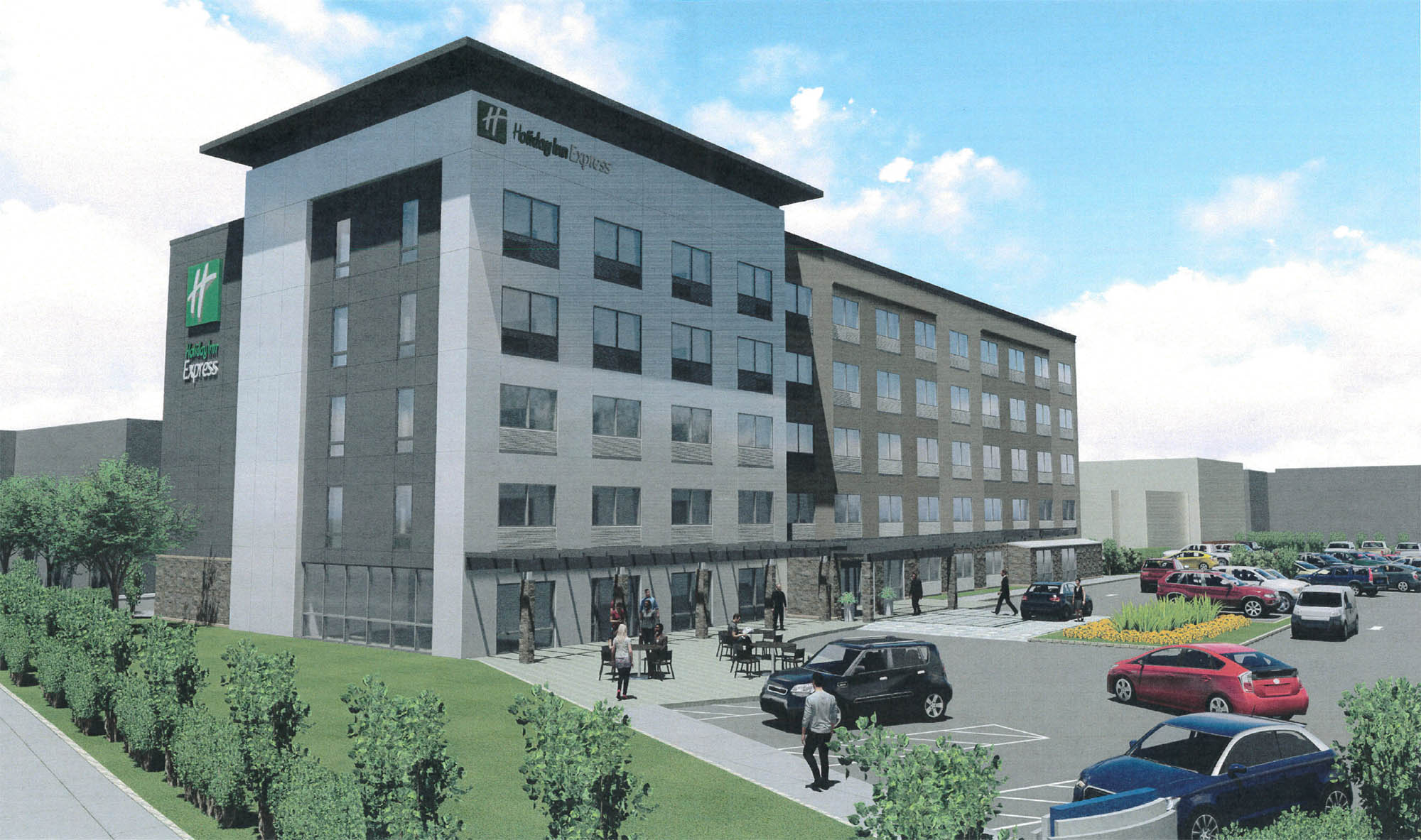 Proposed Holiday Inn Express On Pine Street Greater City Providence